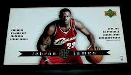 Lebron James 32-Card Boxed Rookie Set 2003-2004 Upper Deck Cavaliers Min... - $28.42