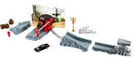 Fast & Furious Quarter Mile Escape Playset with1970 Dodge Charger R/T Car New - $19.41