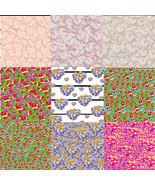 Heart Patterns S200-Digital ClipArt-Art Clip-Gift Tag-Scrapbook-gift card - $5.99