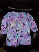 Carter's Just One You Purple Princess Print Sleeper Size 18 Months Girl'... - $14.58