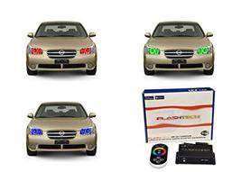 FLASHTECH LED RGB Multi Color Halo Ring Headlight Kit for Nissan Maxima ... - $292.04