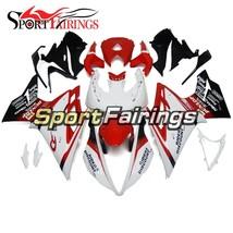 ABS Fairings For Triumph Daytona 675 2013 - 2015 White Red Body Kit Hulls - $503.94