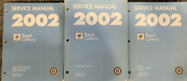 2002 GM BUICK REGAL CENTURY Service Workshop Shop Repair Manual SET Fact... - $227.65