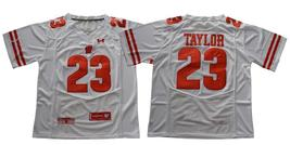 Men's NCAA Wisconsin Badgers #23 Jonathan Taylor College Football Jersey... - $42.99