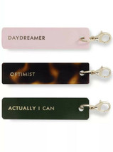 Kate Spade New York Planner Accessories Charm Set Of 3 ACTUALLY I CAN New - $14.25