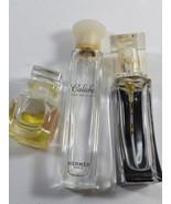 lot of 3 perfume oil cologne bottles Elizabeth Arden Hermes Galeche Engl... - $16.83