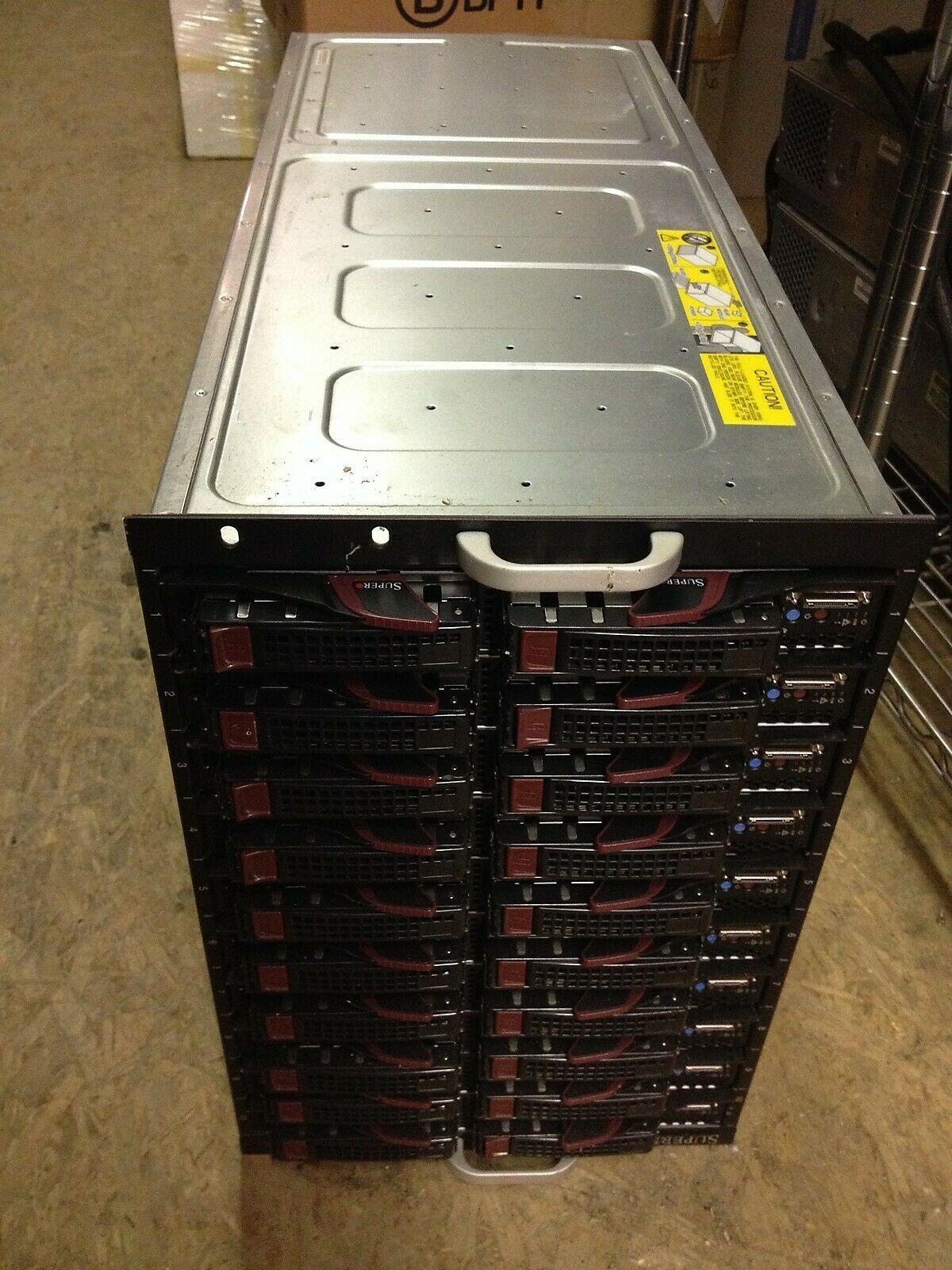 Supermicro SBE-710E-R60 / SBE / SBE-710E-D40 10 Blade Server - $5,000.00