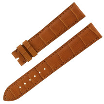 Chopard 18 - 16 mm Saddle Genuine Alligator Leather Women's Watch Band - $168.35