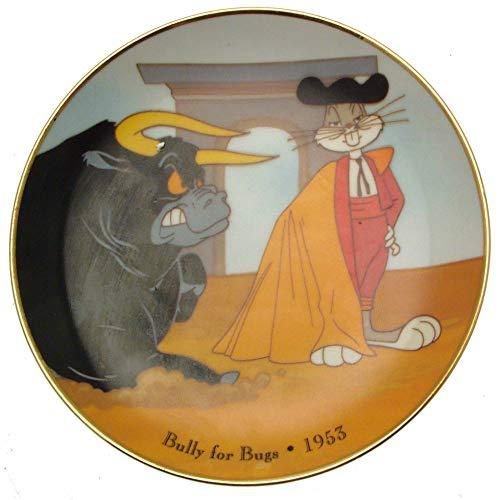 Warner Brothers c1992 Bully for Bugs 1953 Bugs Bunny collector plate CP1435 - $48.41