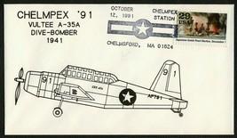 Vultee A-35A-World War II 50th Anniv. Chelmpex '91 [2] **ANY 4=FREE SHIP... - $1.00