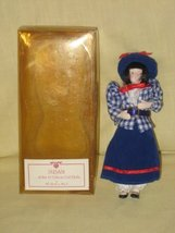 "Vintage Danbury Mint "" Susan "" Gibson Girl Porcelain Doll - 7 Inches - $43.75"