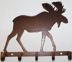 Moose Key Holder Metal Wall Art - $16.50