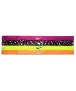 NEW Nike Girl`s Assorted All Sports Headbands 4 Pack Multi-Color #1 - $20.00