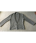 J.Jill Sweater Brown Women's L Cardigan Crossover Button Large Fall Autumn - $8.90