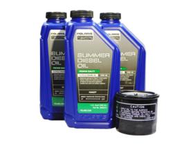 2013-2014 Polaris Brutus HD PTO OEM 15W-40 Summer Diesel Oil Change Kit POL12 - $52.99