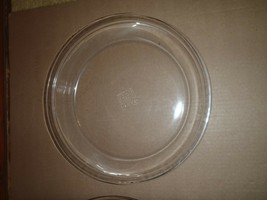 2 Vintage Pyrex 10 inch Clear Pie Plates 210 HTF Size Pies Tarts Quiche image 2