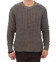 Dolce & Gabbana Gray Runway Netz Pullover Netted Sweater - $266.40