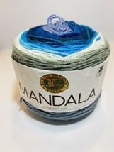 Lion Brand Mandala Mermaid 5.3 Oz 590 Yds 3 Light - $9.89