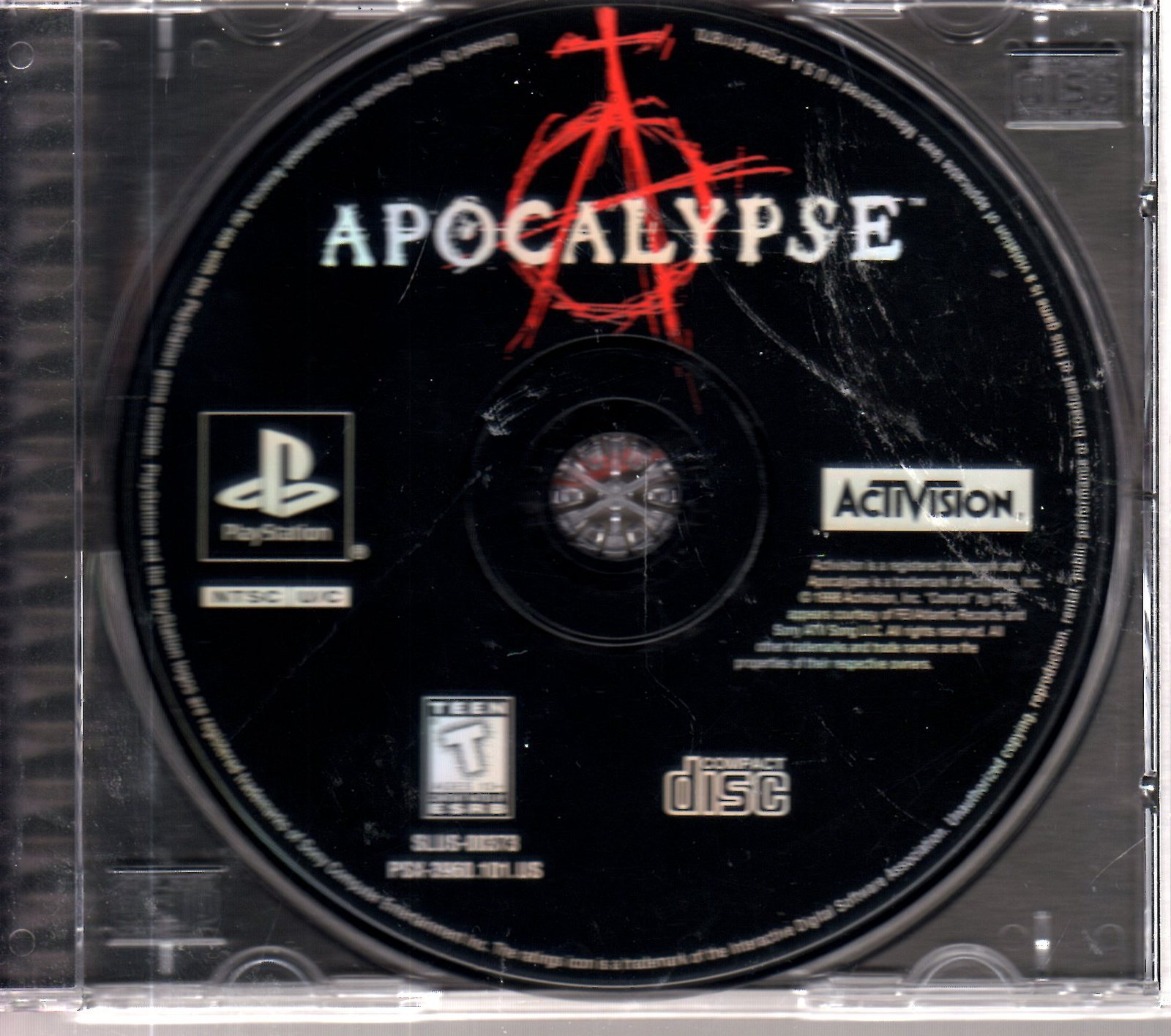 PlayStation -  APOCALYPSE  - Staring Bruce Willis