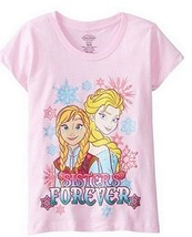 Disney frozen sister forever  T Shirts for girls  Size 7/8 medium - $4.99