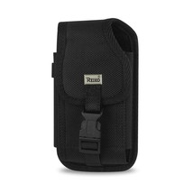 VERTICAL RUGGED POUCH MOTOROLA DROID X PLUS-BLACK WITH BUCKL INNER SIZE:... - $9.99