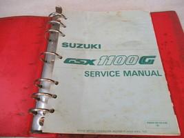 Suzuki 1992 GSX1100G Service Manual Binder P/N 99500-39102-03E - $58.65