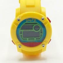 Marc Ecko Unltd Yellow Silicone Parlay Large Face Digital Watch - $64.34