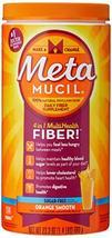 Metamucil Fiber, 4-in-1 Psyllium Fiber Supplement, Sugar-Free Powder, Or... - $39.07