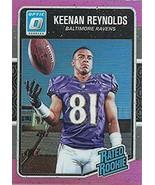 2016 Donruss Optic Rated Rookies Pink #179 Keenan Reynolds NM-MT Ravens - $0.99