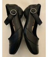 TAOS Woman's Mary Jane Shoes Black Leather US Size 7.5 W 18207 - $74.25