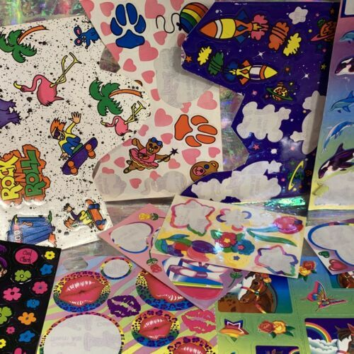 100 Lisa Frank Variety 1980 90s Y2K Sticker Mods  Cosmically Selected