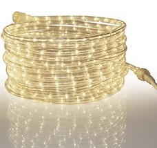 Tupkee LED Rope Light Warm-White - for Indoor and Outdoor use, 24 Feet 7... - $33.50