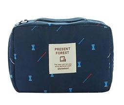 Creative High-capacity Makeup Bags/Storage Bags(Navy) image 1