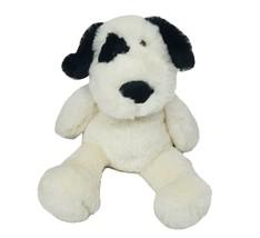 "11"" MANHATTAN TOY CO 2019 BLACK & WHITE PUPPY DOG STUFFED ANIMAL PLUSH T... - $28.05"