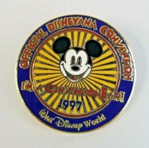 1997 Walt Disney World Disneyana Official Convention Logo Disney Pin - $11.53