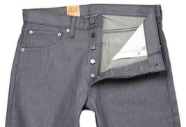 NEW LEVI'S 501 MEN'S ORIGINAL FIT STRAIGHT LEG JEANS BUTTON FLY GRAY 501-1403 image 2