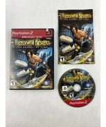 Prince Of Persia Sands Of Time Playstation 2 Game 2003 Ubisoft Entertain... - $8.59