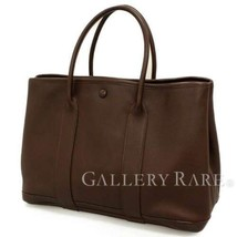 HERMES Garden Twilly TPM Veau Swift Havane #I Tote Bag France Authentic ... - $1,254.40