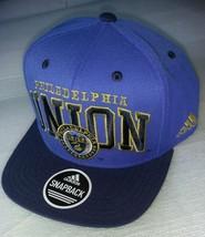 Adidas MLS Philadelphia Union Soccer Hat Cap Snap Back Flat Brim  - $20.00