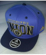 Adidas MLS Philadelphia Union Soccer Hat Cap Snap Back Flat Brim  - $20.00
