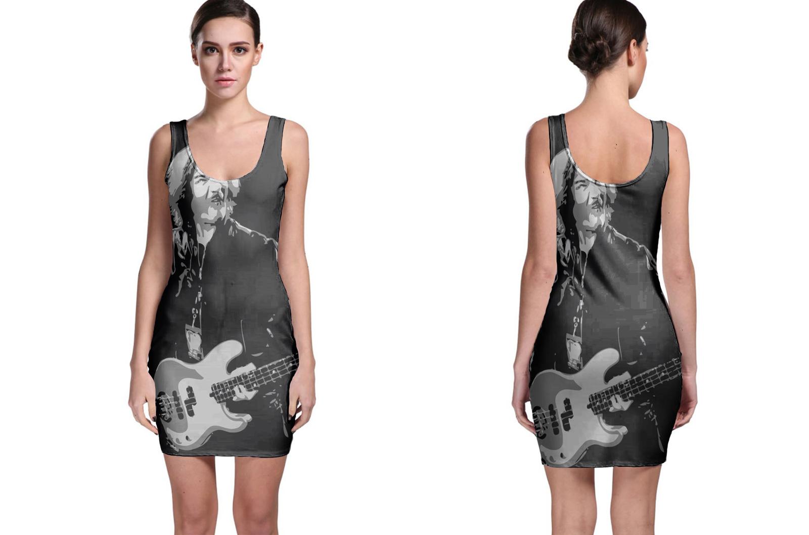 Ian Gilian BlackSabbath Bodycon Dress