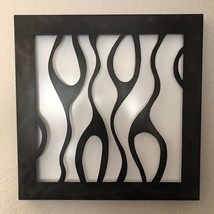 Metal Wall Art White/Black Sculpture Abstract Home decor Holly Lentz - $379.00