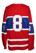 Custom Name # Houston Apollos Retro Hockey Jersey New Red Any Size image 5