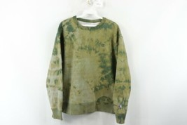 Vintage 90s Champion Mens Large Distressed Acid Wash Crewneck Sweatshirt... - $59.35