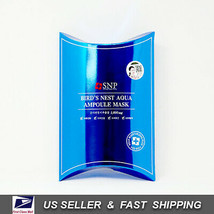 [ SNP ] Bird's Nest Aqua Ampoule Facial Mask 25ml x10 Sheets - $17.82