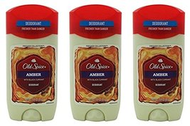 Old Spice Amber Fresher Collection Invisible Solid Men's Deodorant 3 Oz Pack of  image 3