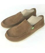 Sanuk Shoes Vagabond Tripper Suede Brown Men Size 12 - $59.40