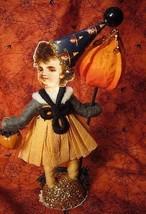 Vintage Inspired Spun Cotton Halloween Trick or Treater image 2