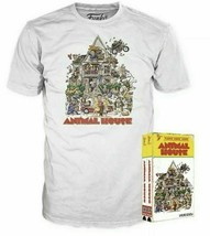 New Men's Animal House Funko Home Video VHS Boxed Short Sleeve Tee Exclusive NIB image 2