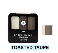 ABSOLUTE NEW YORK NEW HD EYEBROW KIT COLOR:TOASTED TAUPE  AEBK04 - $3.91